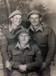 Cpl Haycock, Cpl Overthrow and Pte Meredith