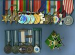 Harry Boddington's medals and awards