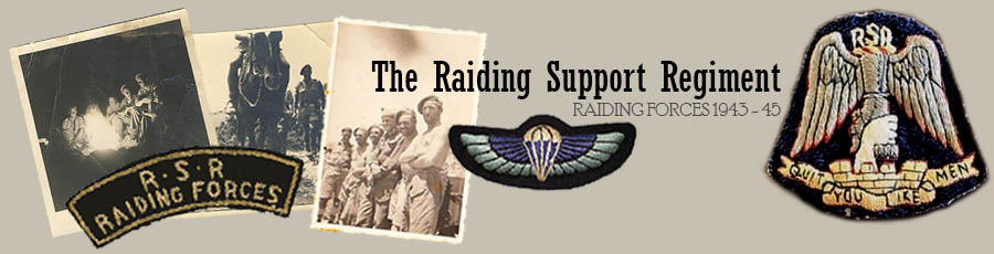 The Raiding Support Regiment