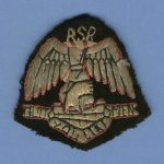 RSR Cap Badge - Harry Boddington